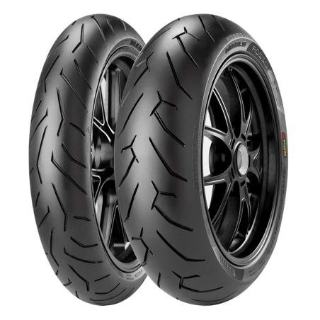 Pirelli Diablo Rosso II  120/70 ZR 17 58W Y 180/55 ZR 17 73W