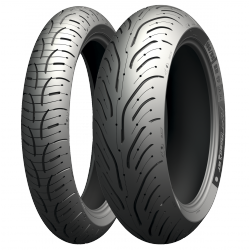 Michelin Pilot Road 4 120/70 ZR 17 58W Y 180/55 ZR 17 73W