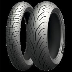Michelin Pilot Road 4 120/70 ZR 17 58W Y 180/55 ZR 17 73W