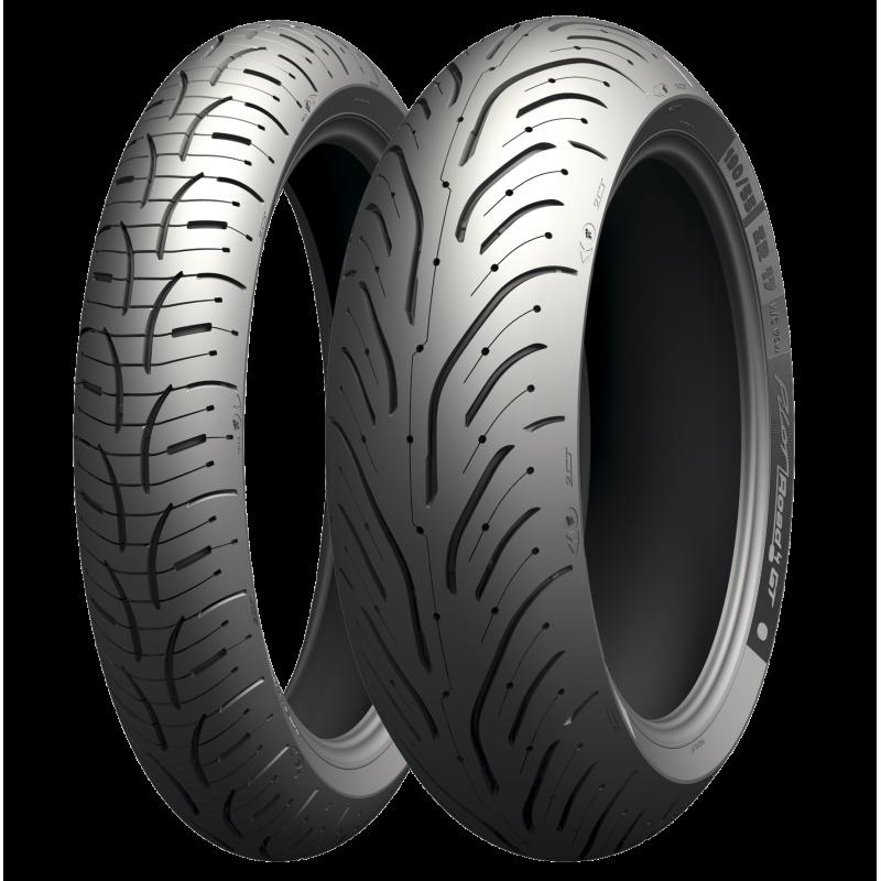 Michelin Pilot Road 4 120/70 ZR 17 58W Y 190/50 ZR 17 73W