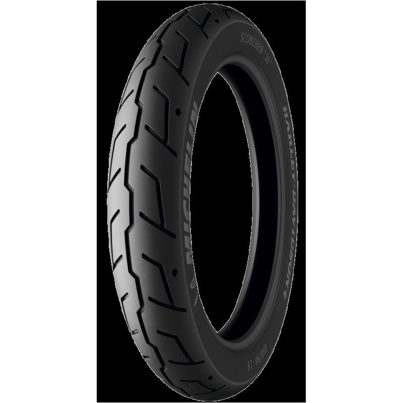 "Michelin SCORCHER ""31"" 110/90 B19 62H TL Front"