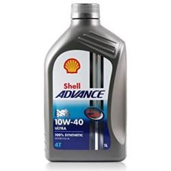 Aceite SHELL Advance Ultra 4T 10W40 (SN/MA2) 1L