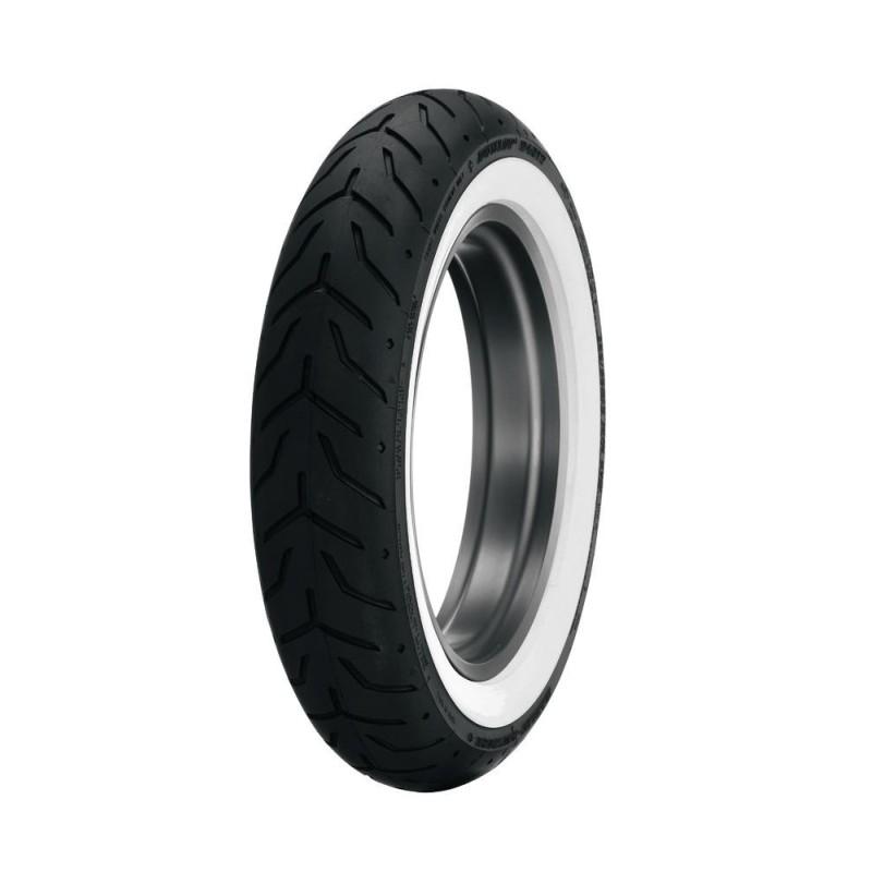Dunlop D408 130/90 B 16 67H TL (banda blanca)