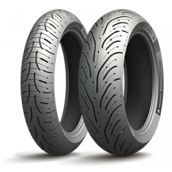 Michelin Pilot Road 4 Scooter 120/70 R15 56H Y 160/60 R14 65H TL