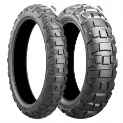 Bridgestone Battlax Adventurecross AX41 120/90 - 17 M/C 64P TL Rear